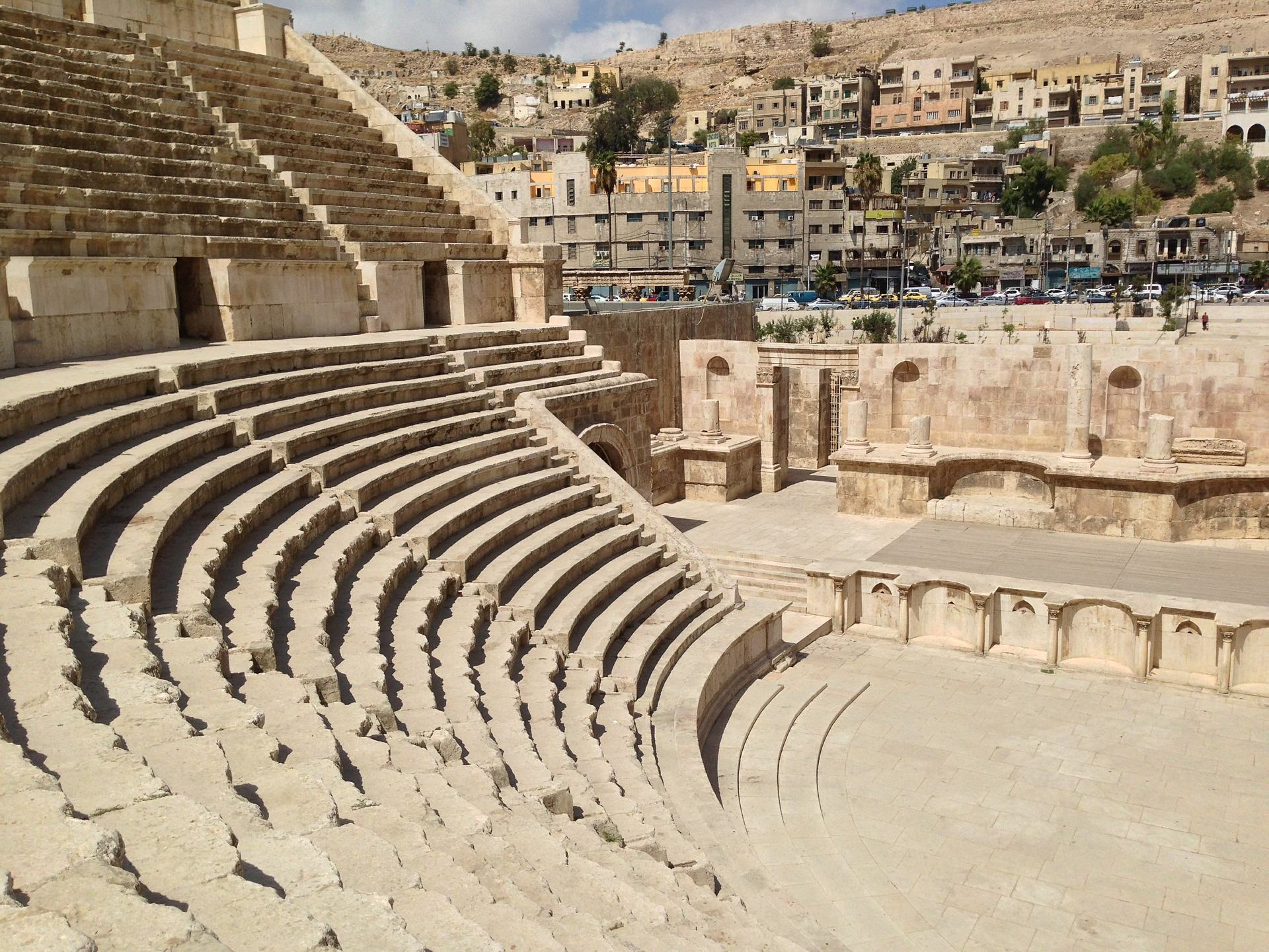 amphitheater in amman