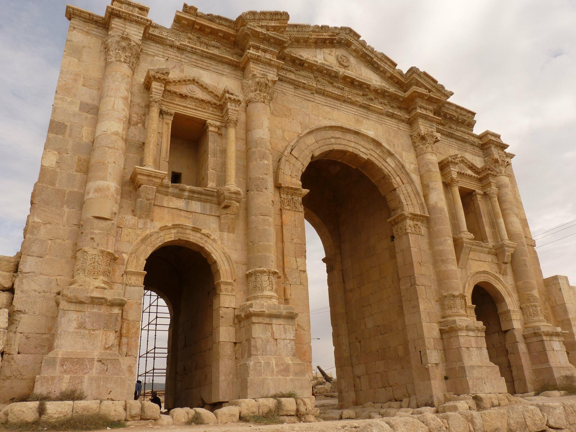 gerasa artemis tempel