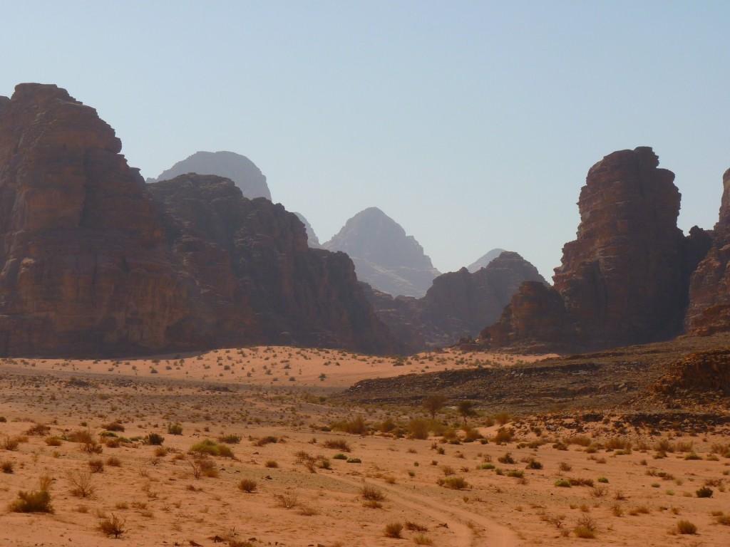 wadi rum wüste negev