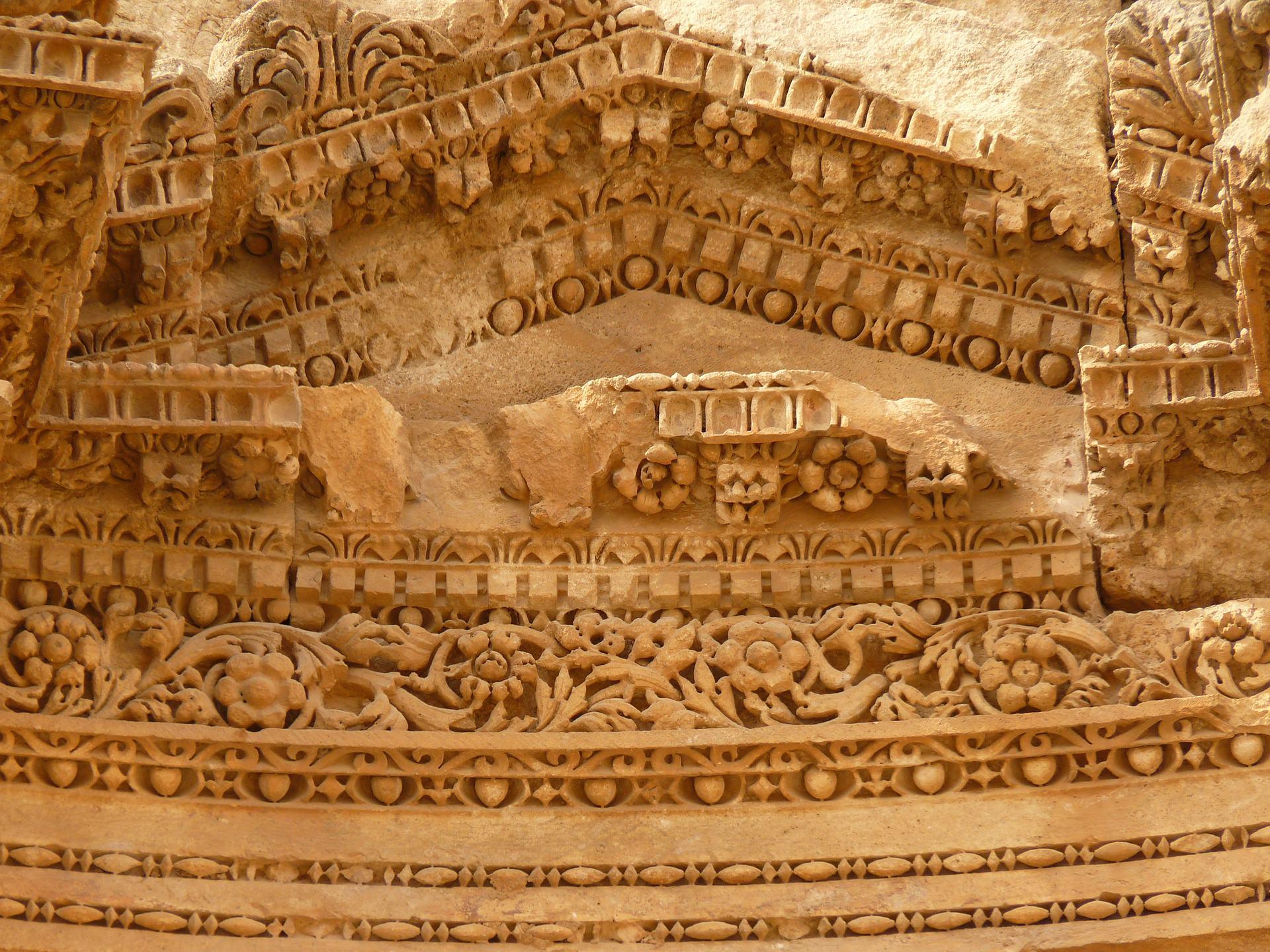 gerasa artemis tempel detail