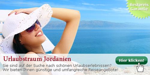 Günstige Jordanien Reisen